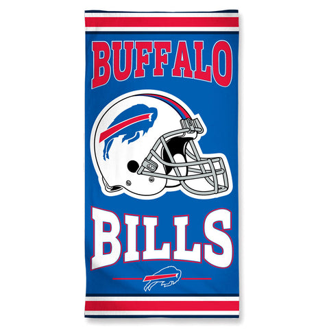 Buffalo Bills Towel 30x60 Beach Style