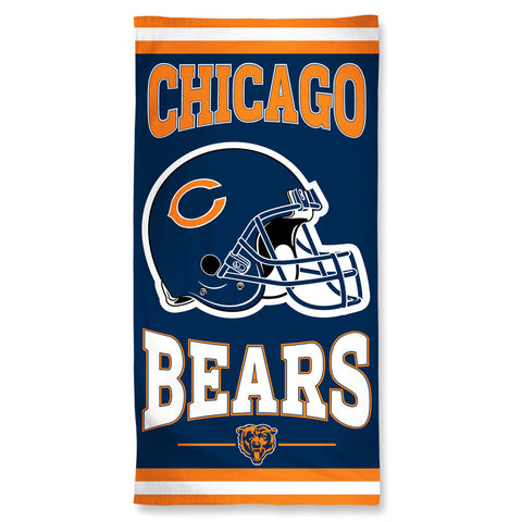 Chicago Bears Towel 30x60 Beach Style