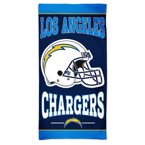 Los Angeles Chargers Towel 30x60 Beach Style