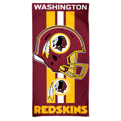 Washington Redskins Towel 30x60 Beach Style