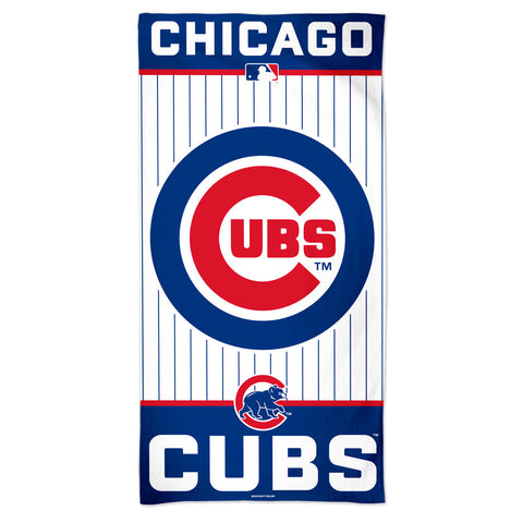 Chicago Cubs Towel 30x60 Beach Style