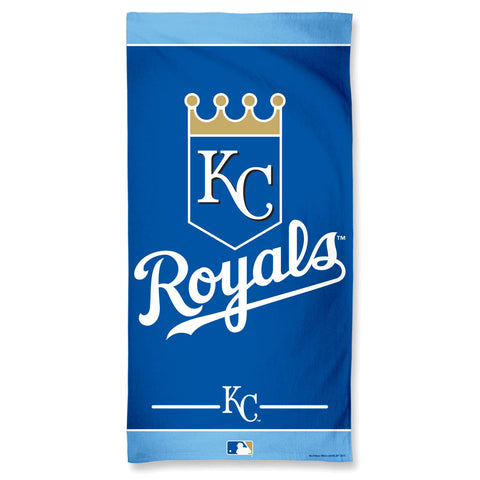 Kansas City Royals Towel 30x60 Beach Style