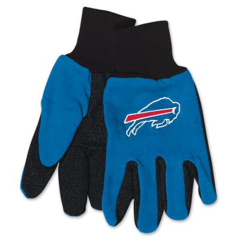 Buffalo Bills Two Tone Adult Size Gloves