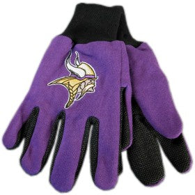 Minnesota Vikings Two Tone Adult Size Gloves