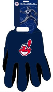 Cleveland Indians Two Tone Gloves - Adult Size