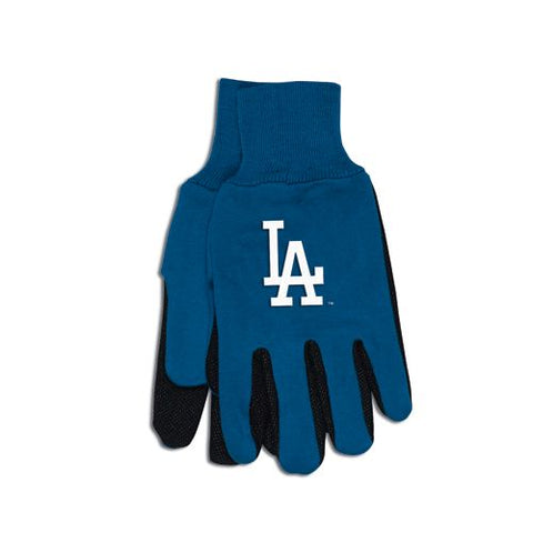 Los Angeles Dodgers Two Tone Gloves - Adult Size