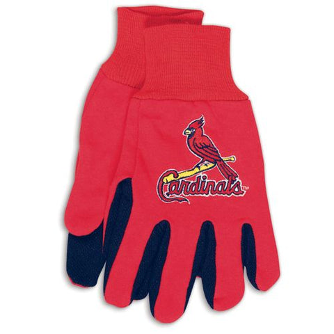St. Louis Cardinals Two Tone Gloves - Adult Size