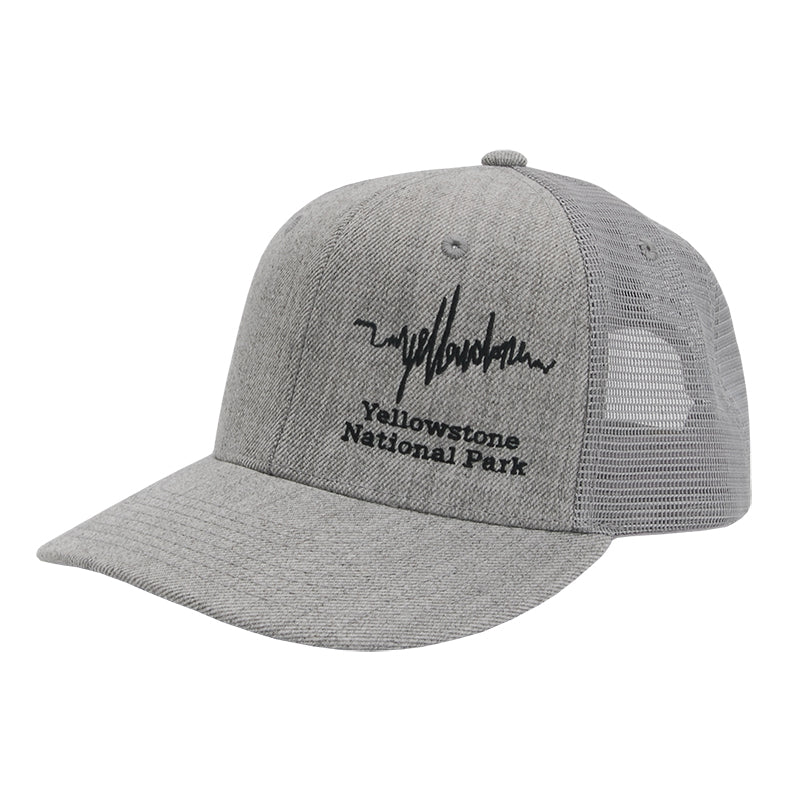 Yellowstone National Park Seismograph Trucker Hat