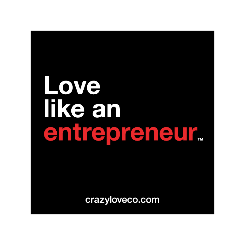 Love Like an Entrepreneur Sticker