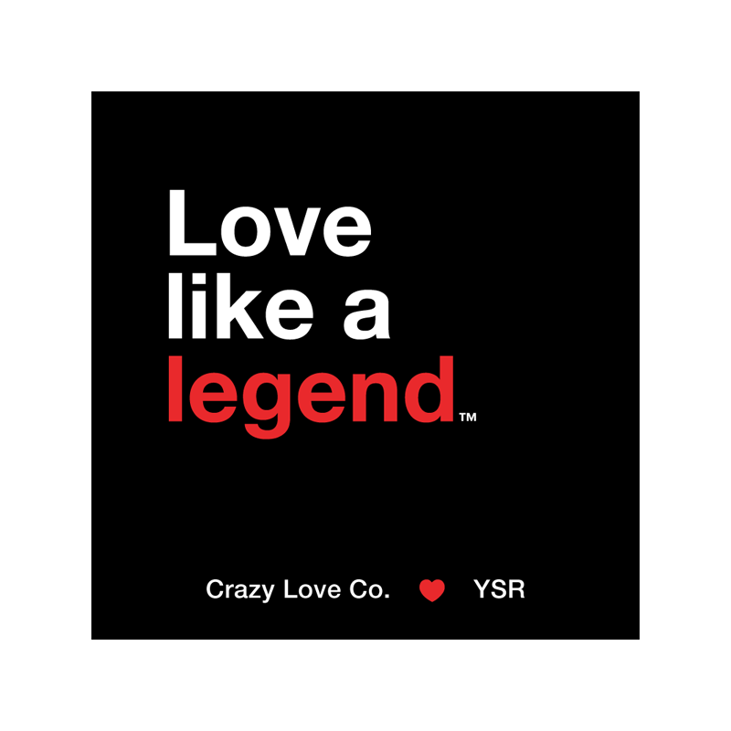 Love Like a Legend Sticker