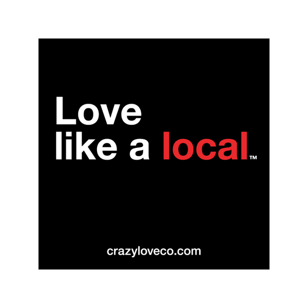 Love Like a Local Sticker