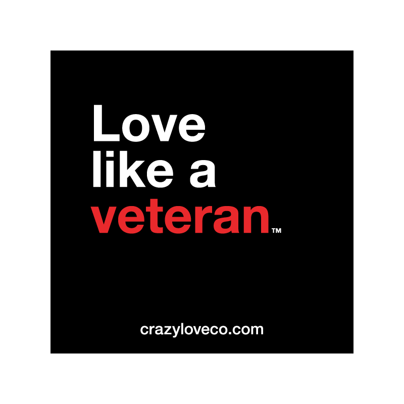 Love Like a Veteran Sticker
