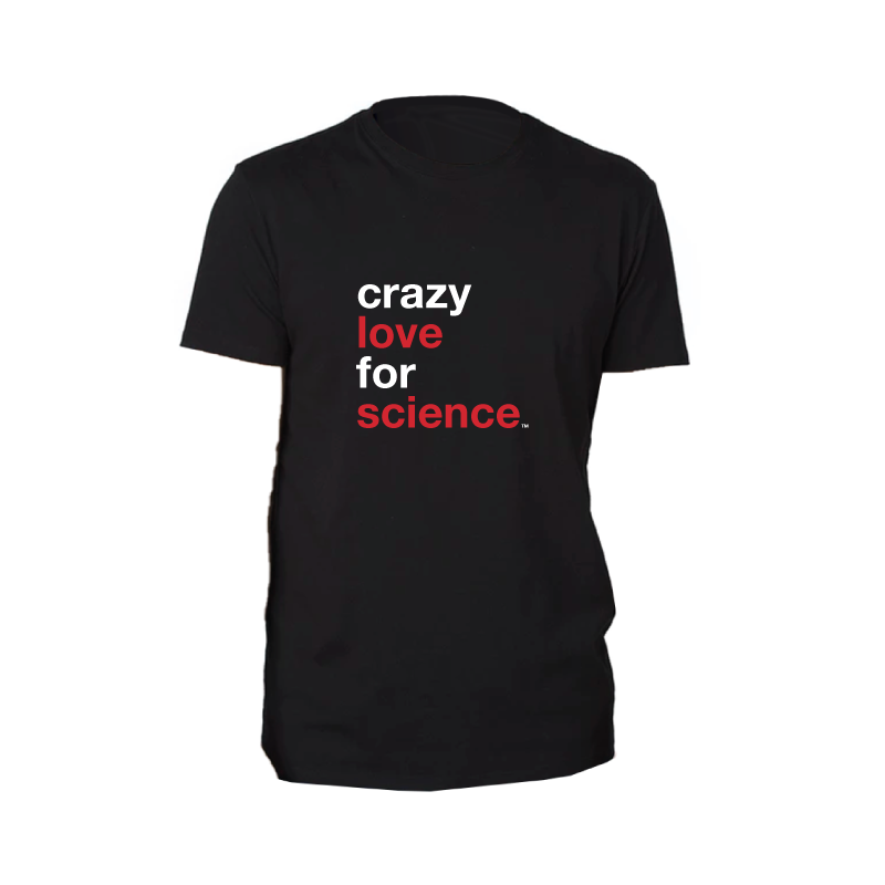 Crazy Love for Science Eco T-Shirt