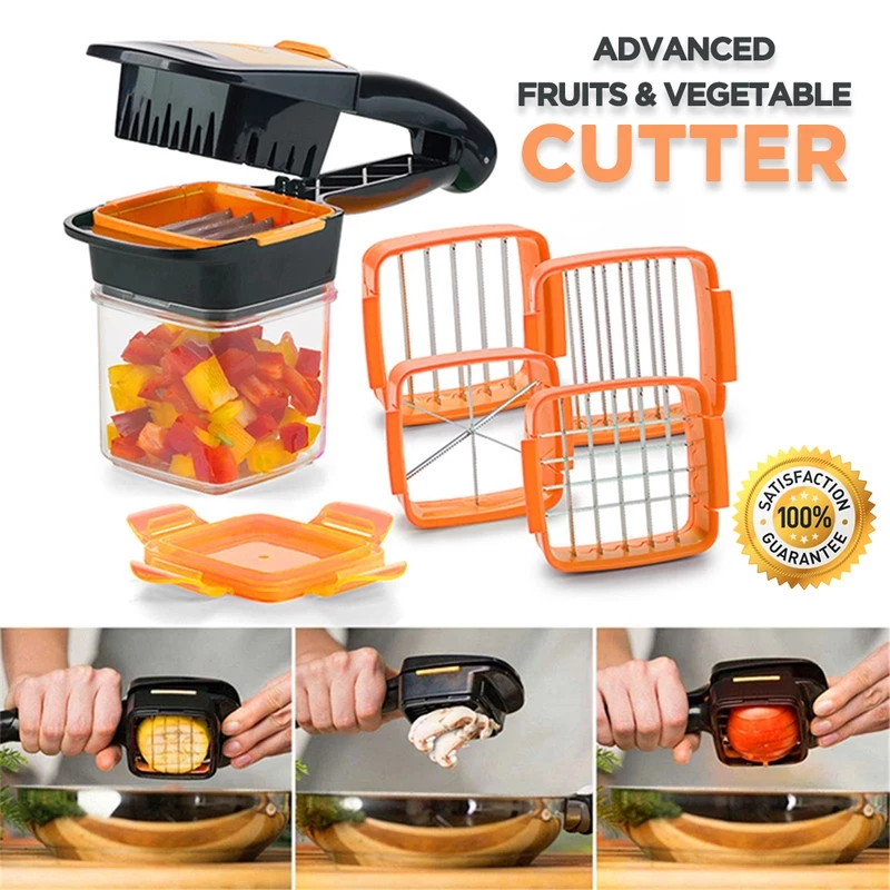 ADVANCED FRUIT & VEGETABLE CHOPPER (50% OFF For LIMITED PERIOD)