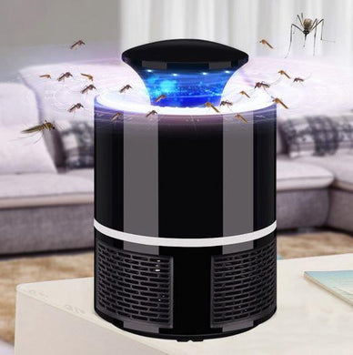 USB Power LED Mosquito Killer Lamp - Eliminates Mosquitoes Quietly & Safely