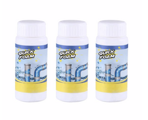 Quick-Foam Home, Kitchen & Toilet Stain Removal - Pack Of 3 (50% OFF For Limited Period)