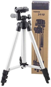 Tripod 3110 – Portable & Foldable Camera/Mobile Stand For Perfect Video and Photo Shooting