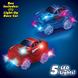Magic Tracks - Racetrack with LED Racing Car