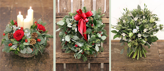 Open For Christmas Orders.The Christmas Flower Shop Open The Flower Shop Bristol