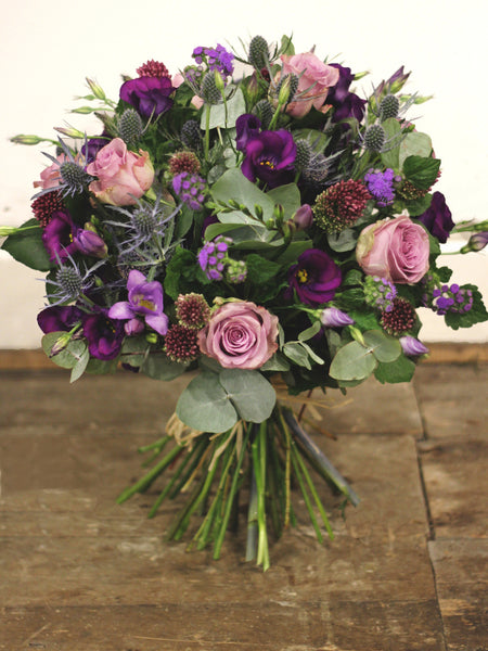 Parma Violets ~ Vintage Memory Lane roses and scrumptious seasonal purple blooms