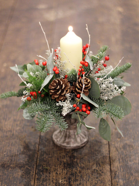 Festive Urn Table Arrangement