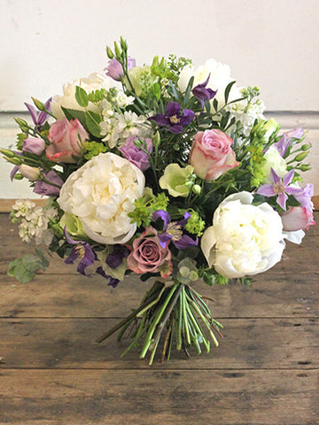 Pure Poetry ~ Gorgeous vintage roses, summer peonies, scented stocks, flowing clematis and zesty foliages