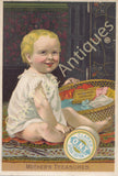 Victorian Trade Card - Clark's O.N.T. Spool Cotton - Mother's Treasures