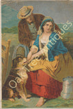 Victorian Trade Card - Scottish Scene - Dr. Jaynes patent medicines