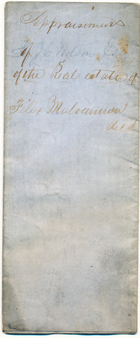 1866 Appraisal for real estate of Felix Mulvanon, Borough [now Vanport] Twp., Beaver Co., PA