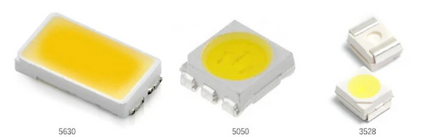The Difference Between A 3528 LED 5050 LED And 5630 (5730) LED