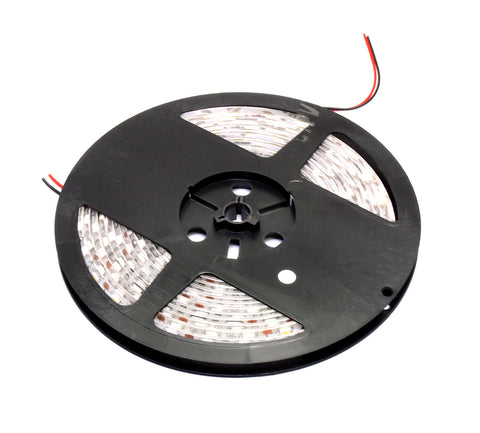 DC 12V 12W 60x 5050 cluster per meter flexible waterproof LED light strip with 3M adhesive (5 meter roll)