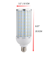 12V-60V 60W Super Bright E26 LED Light Bulb I Aluminum PC High Power