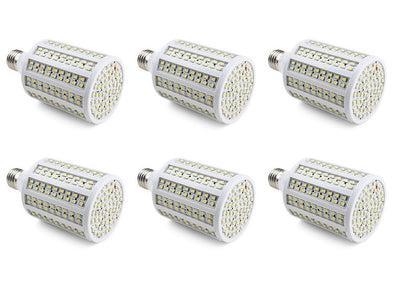 18W 3528 Chip DC 12Volt - 24Volt LED Light Bulb E26 B22 1700 Lumen