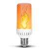 Flame Effect Fire LED Fire Light Bulb Flaming Flicker 120V 240V Screw Base