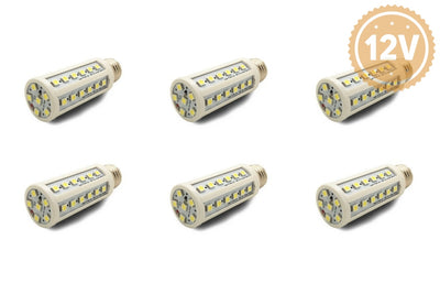 9W Dc Led Bulb Light Solar Lantern Replacement Freight Battery Lamp 6 Pack / Cool White Light Bulb