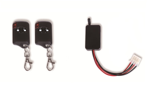 DC 6V Dual Remote Control Wireless Power Switch Set For Duck Decoys - 6 Volt x 2 Remotes
