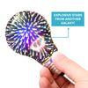 Fireworks A19 3D LED Light Bulb l Explosive Laser Show Colors