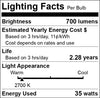 GY6.35 Base Halogen Light Bulb 12V 20W 35W 50 Watt Low Voltage 10 PACK