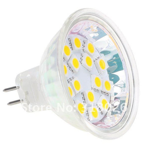 12V-24V 3.75W High Power LED Light Bulb MR16 GU5.3 2Pin RV Spot Lamp