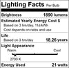 DC 12V To 85V 21 Watt Super Wide Voltage LED Light Bulb - E27 Medium Base Lamp
