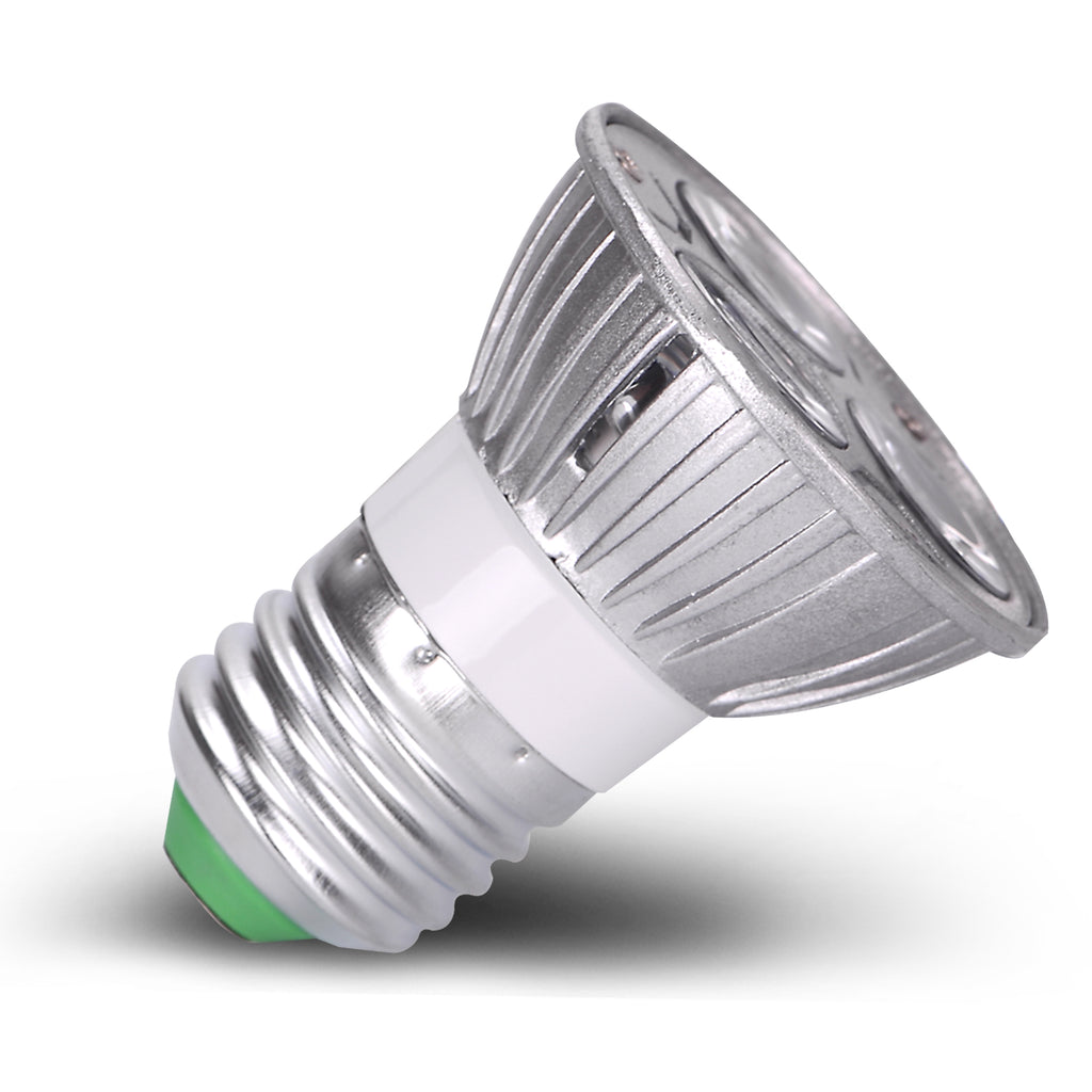Acdc 12v 12 volt 3w 1w x 3 led spot light bulb e26 e27 par16 screw acdc 12v 12 volt 3w 1w x 3 led spot light bulb e26 e27 par16 screw socket lamp publicscrutiny Images