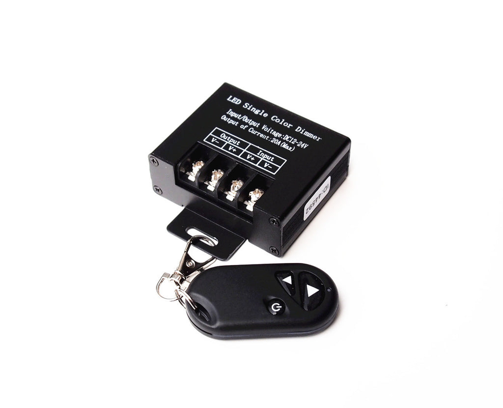 20 amp dc 12v 24v led wireless keychain remote control 12vmonster