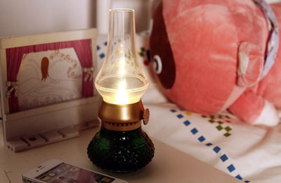 USB Oil Lantern Theme Night Light Arabia Style I Portable