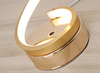Light Twistie Line Table Desk Lamp LED Linear Lighting Standing Lamp Gold I Bed Side Light