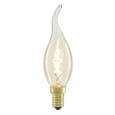 240V 25 Watt Antique Glass lamp