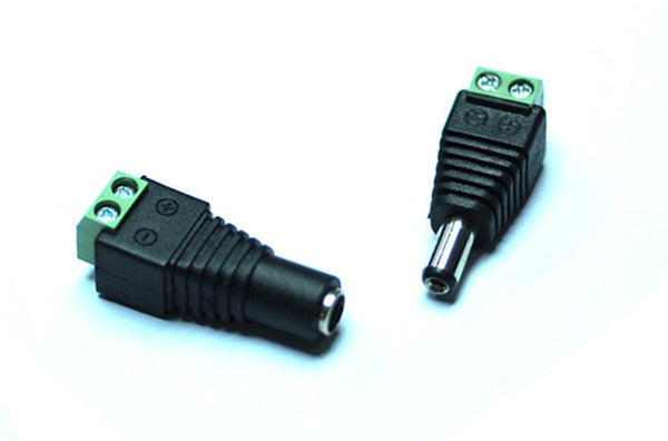 Pack Of 10 Dc Plug 12v 24v 2 1mm Wiring Connectors Male