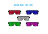 USB LED Dancing Groove Party Glasses - Awesome Light Effects