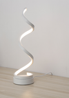 Light Twistie Line Table Desk Lamp LED Linear Lighting Standing Lamp White I Bed Side Light
