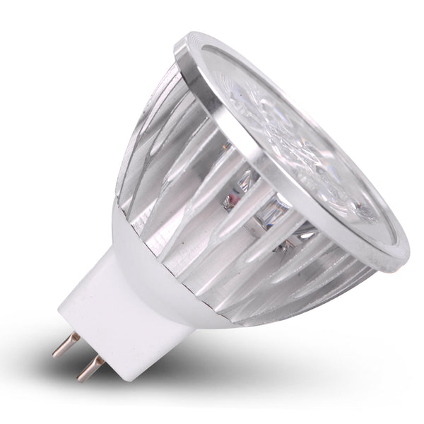 Ac Dc 12 Volt 4 Watt Led Light Spot Bulb Mr16 Gu5 3 Bi Pin