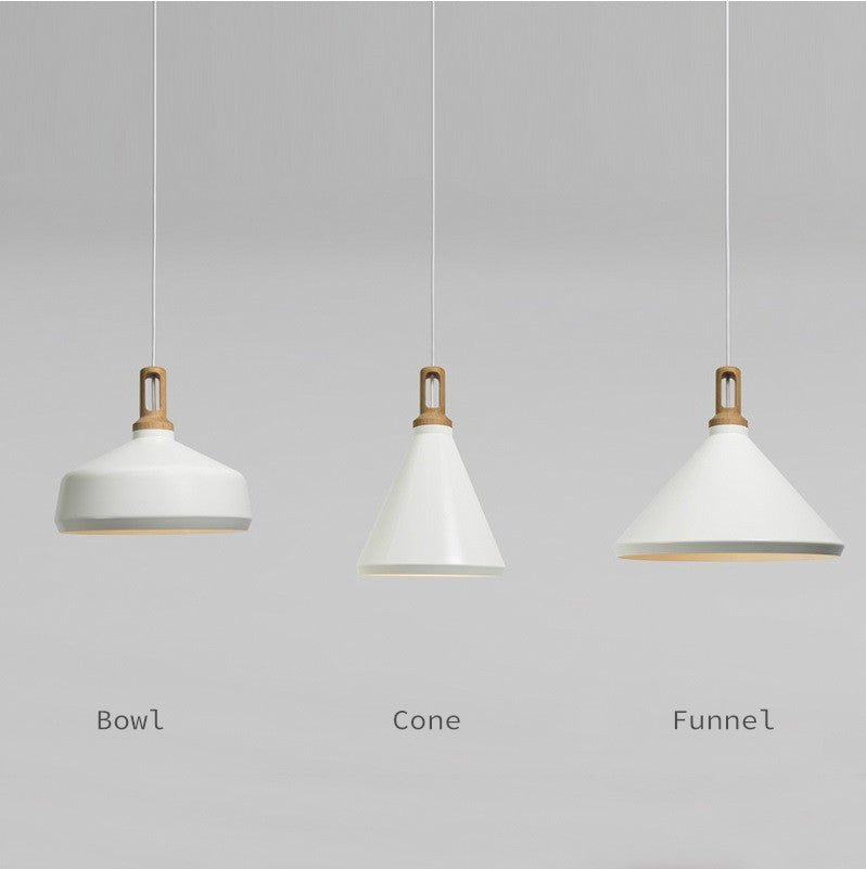 Scandinavian Minimalists Designer Ceiling Hanging Pendant Lamp Wood ...